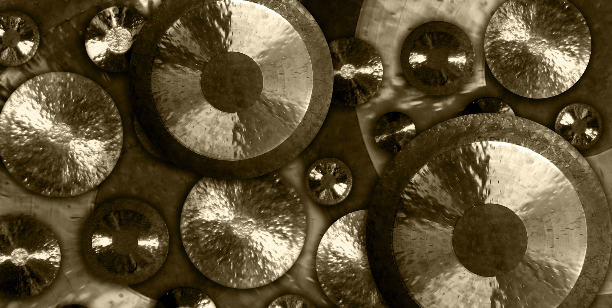 vibrant ensemble gongs